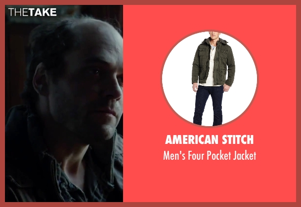 American Stitch jacket from Regression seen with David Dencik (John Gray)
