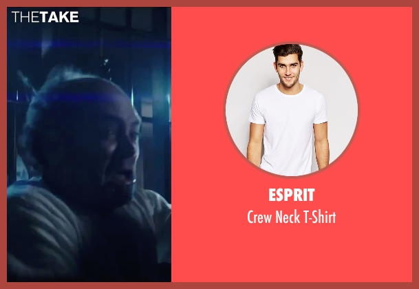 Esprit white t-shirt from Regression seen with David Dencik (John Gray)