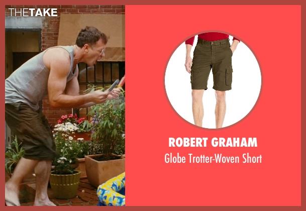Robert Graham green short from Sex and the City seen with David Eigenberg (Steve)