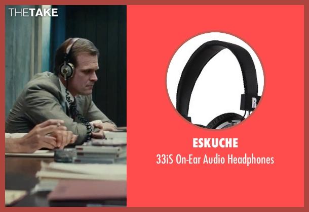Eskuche headphones from Black Mass seen with David Harbour (John Morris)