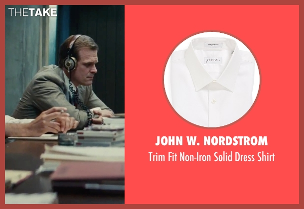 John W. Nordstrom white shirt from Black Mass seen with David Harbour (John Morris)