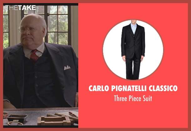 Carlo Pignatelli Classico black suit from The Big Lebowski seen with David Huddleston (Jeffrey Lebowski/ The Big Lebowski)