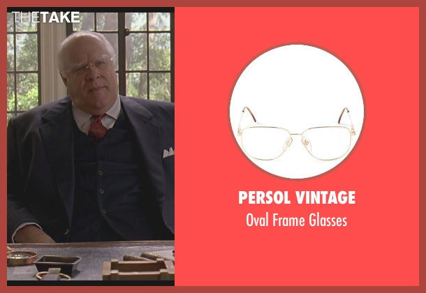 Persol Vintage white glasses from The Big Lebowski seen with David Huddleston (Jeffrey Lebowski/ The Big Lebowski)