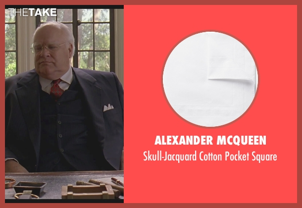Alexander Mcqueen white square from The Big Lebowski seen with David Huddleston (Jeffrey Lebowski/ The Big Lebowski)