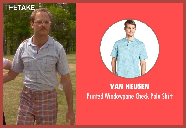 Van Heusen blue shirt from Wet Hot American Summer seen with David Hyde Pierce (Henry Newman)