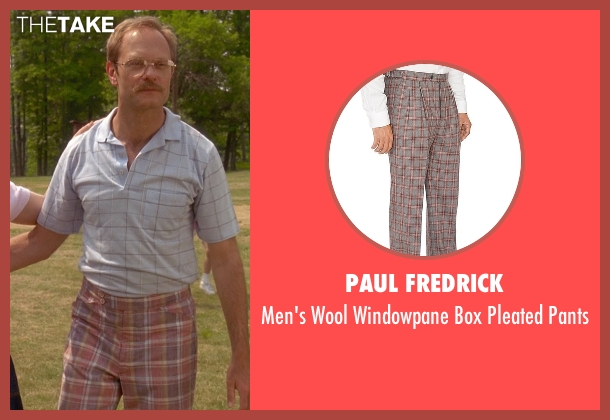 Paul Fredrick brown pants from Wet Hot American Summer seen with David Hyde Pierce (Henry Newman)