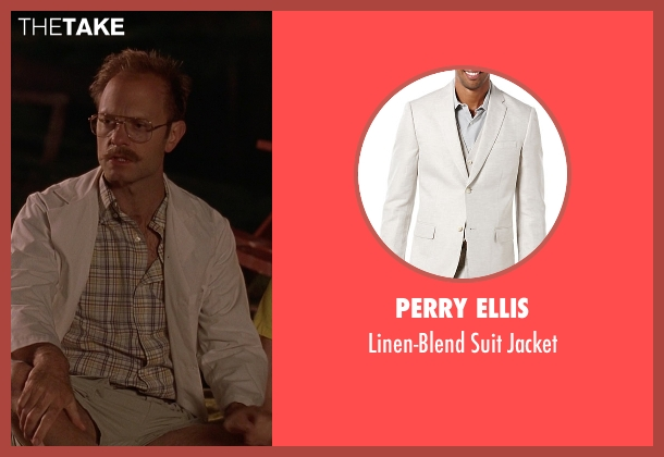 Perry Ellis white jacket from Wet Hot American Summer seen with David Hyde Pierce (Henry Newman)