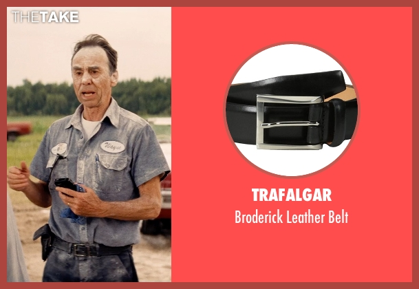 Trafalgar black belt from Hot Pursuit seen with David Jensen (Truck Driver)
