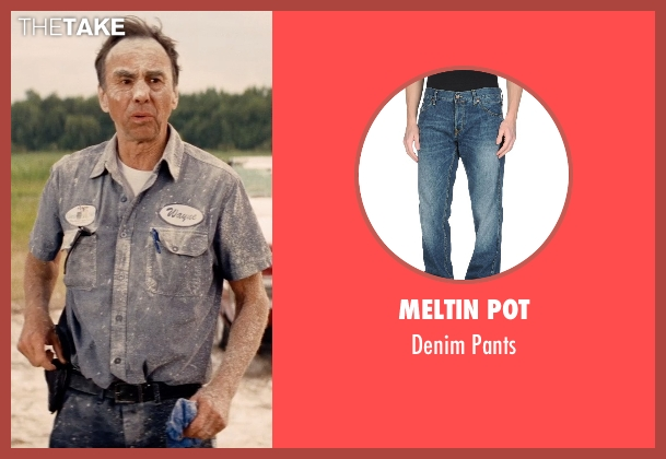 Meltin Pot blue pants from Hot Pursuit seen with David Jensen (Truck Driver)
