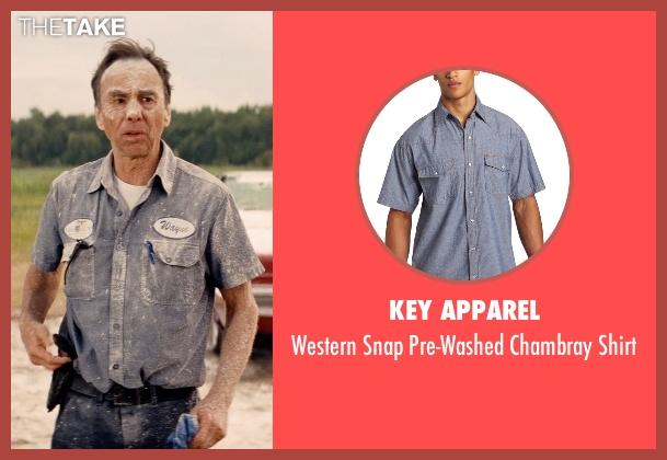 Key Apparel blue shirt from Hot Pursuit seen with David Jensen (Truck Driver)