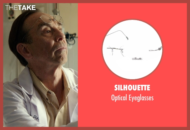 Silhouette silver eyeglasses from The Best of Me seen with David Jensen (Dr. Pundt)