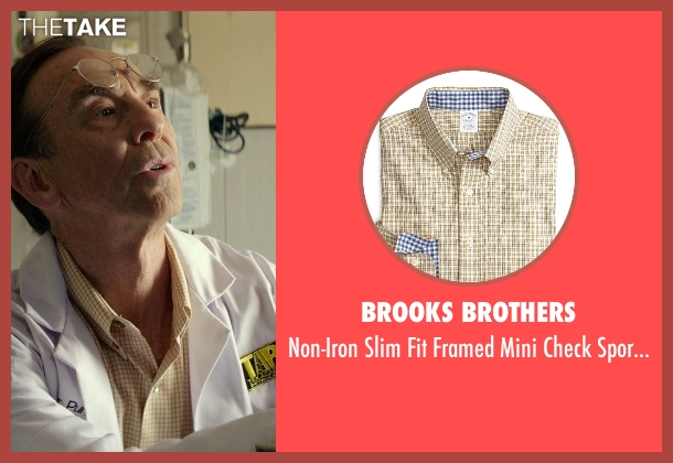 Brooks Brothers yellow shirt from The Best of Me seen with David Jensen (Dr. Pundt)