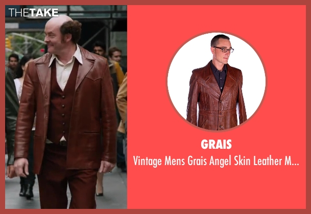 Grais brown 1970s from Anchorman 2: The Legend Continues seen with David Koechner (Champ Kind)