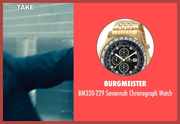 Burgmeister gold watch from The Judge seen with David Krumholtz (Mike Kattan)