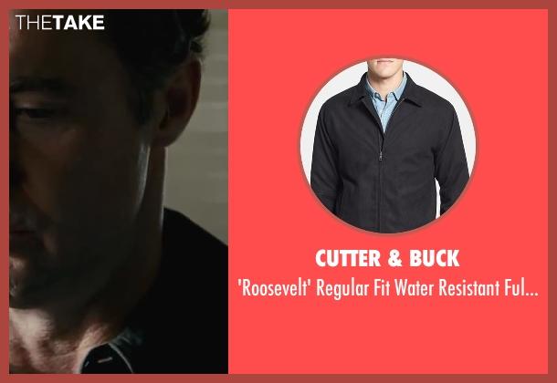 Cutter & Buck black jacket from Contraband seen with David O'Hara (Jim Church)