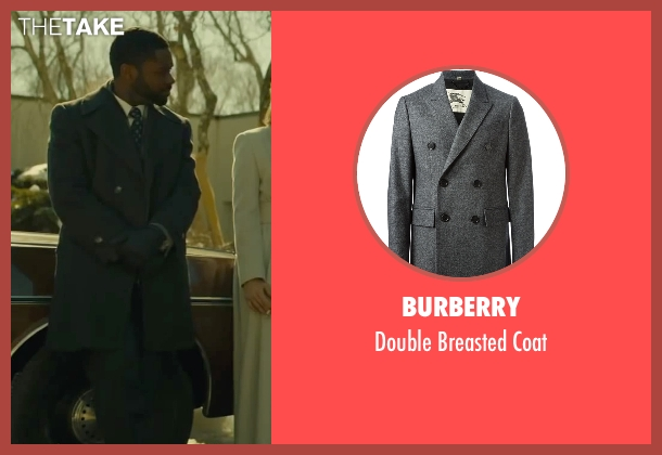 Burberry gray coat from A Most Violent Year seen with David Oyelowo (Lawrence)