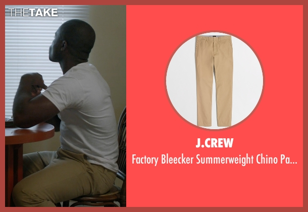 J.Crew beige pants from Captive seen with David Oyelowo (Brian Nichols)