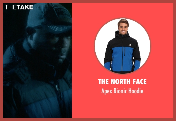 The North Face black hoodie from Captive seen with David Oyelowo (Brian Nichols)