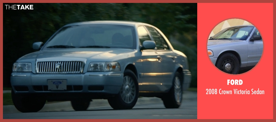 Ford sedan from Captive seen with David Oyelowo (Brian Nichols)