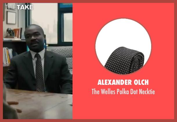 Alexander Olch black necktie from Interstellar seen with David Oyelowo