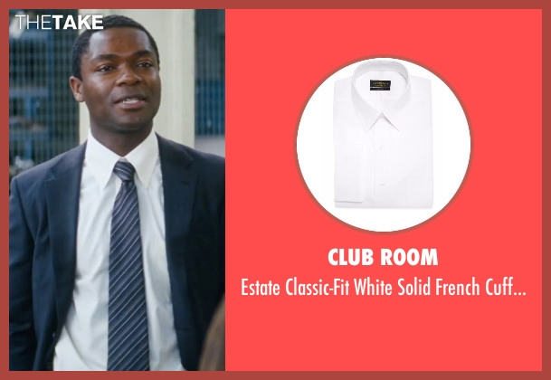 Club Room white shirt from Jack Reacher seen with David Oyelowo (Emerson)