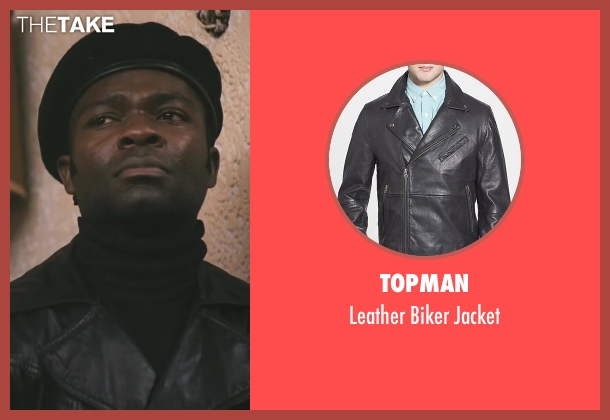 Topman black jacket from Lee Daniels' The Butler seen with David Oyelowo (Louis Gaines)