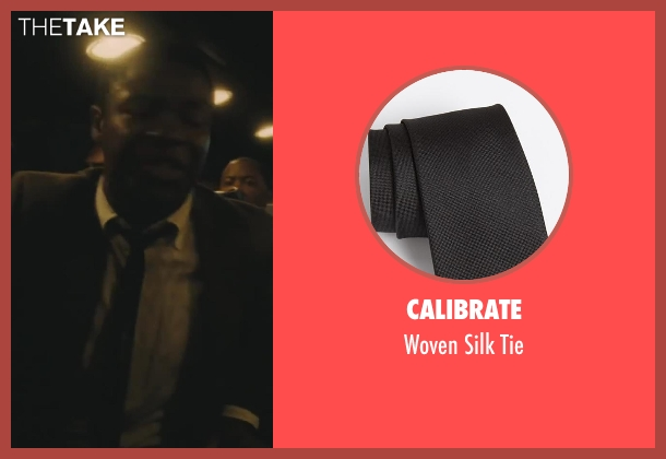 Calibrate black tie from Lee Daniels' The Butler seen with David Oyelowo (Louis Gaines)