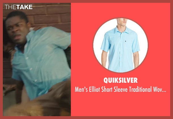 Quiksilver blue top from Lee Daniels' The Butler seen with David Oyelowo (Louis Gaines)