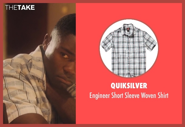 Quiksilver white shirt from Lee Daniels' The Butler seen with David Oyelowo (Louis Gaines)