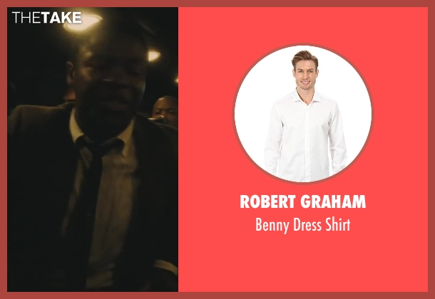 Robert Graham white shirt from Lee Daniels' The Butler seen with David Oyelowo (Louis Gaines)