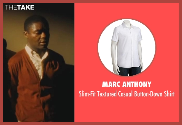 Marc Anthony white shirt from Lee Daniels' The Butler seen with David Oyelowo (Louis Gaines)