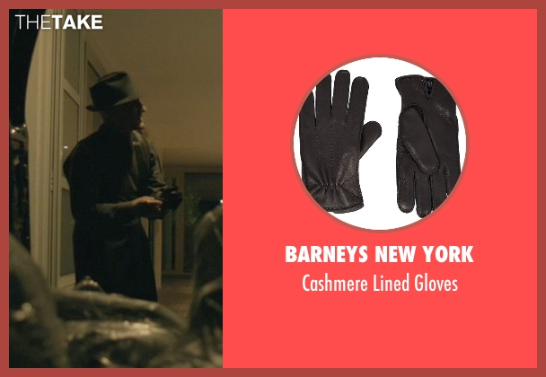Barneys New York black gloves from John Wick seen with David Patrick Kelly (Charlie)