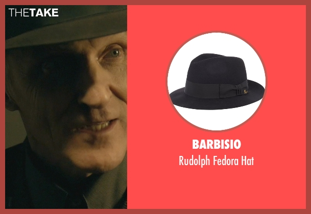 Barbisio black hat from John Wick seen with David Patrick Kelly (Charlie)