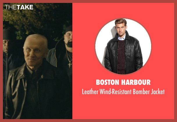 Boston Harbour black jacket from John Wick seen with David Patrick Kelly (Charlie)