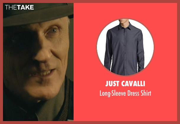 Just Cavalli gray shirt from John Wick seen with David Patrick Kelly (Charlie)