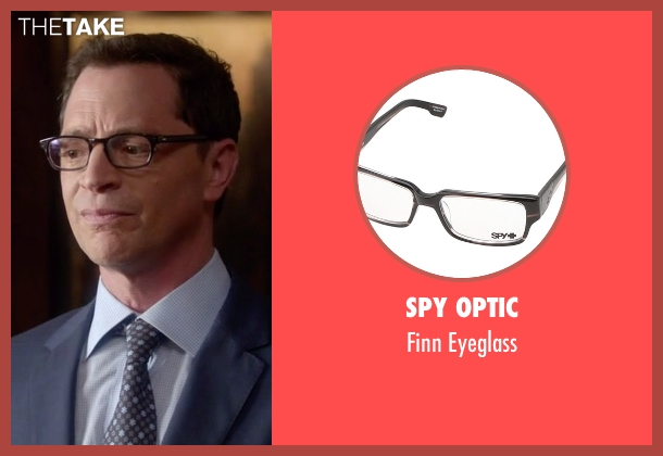 Spy Optic black eyeglass from Scandal seen with David Rosen (Joshua Malina)