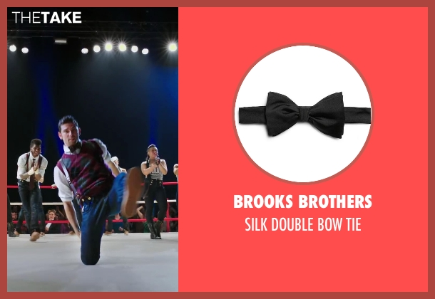 BROOKS BROTHERS black tie from Step Up: All In seen with David Shreibman (Chad)
