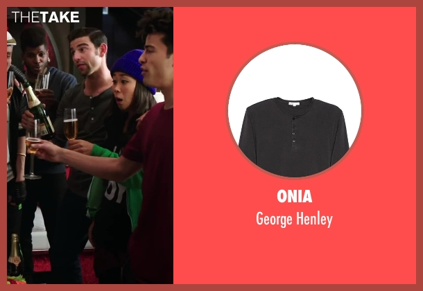 Onia gray henley from Step Up: All In seen with David Shreibman (Chad)