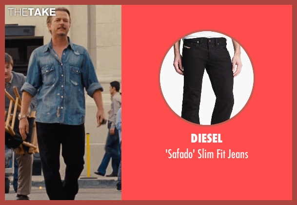 Diesel black jeans from Entourage seen with David Spade (Unknown Character)