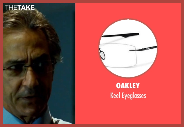 Oakley white eyeglasses from The Bourne Ultimatum seen with David Strathairn (Noah Vosen)
