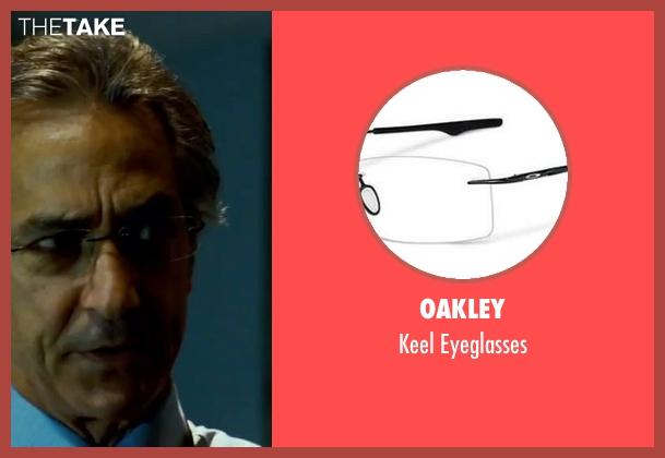 Oakley white eyeglasses from The Bourne Ultimatum seen with David Strathairn (Noah Vosen)