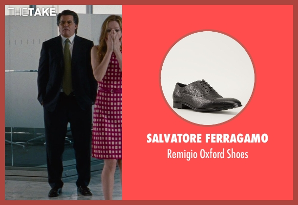 Salvatore Ferragamo black shoes from The Other Woman seen with David Thornton (Nick)