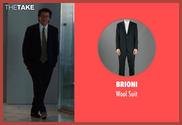 Brioni black suit from The Other Woman seen with David Thornton (Nick)