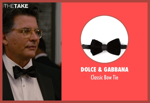 Dolce & Gabbana black tie from The Other Woman seen with David Thornton (Nick)