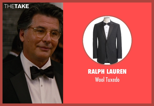 Ralph Lauren black tuxedo from The Other Woman seen with David Thornton (Nick)