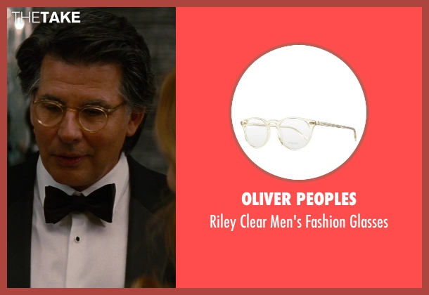 Oliver Peoples	 white glasses from The Other Woman seen with David Thornton (Nick)