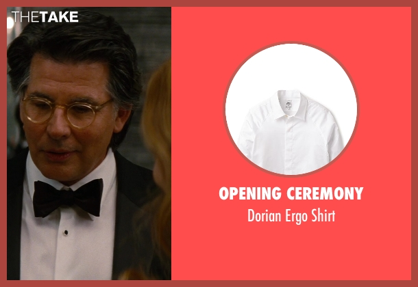 Opening Ceremony white shirt from The Other Woman seen with David Thornton (Nick)