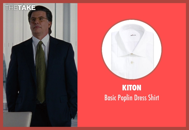 Kiton	 white shirt from The Other Woman seen with David Thornton (Nick)
