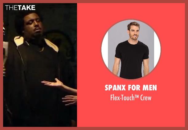 Spanx for Men black crew from Walk of Shame seen with Da'Vone McDonald (Hulk)