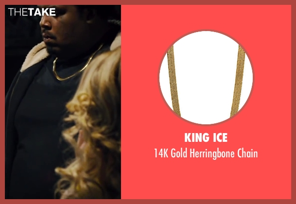 King Ice gold chain from Walk of Shame seen with Da'Vone McDonald (Hulk)
